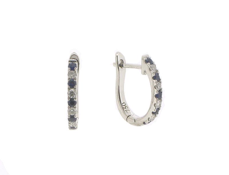 0.15ct 18ct Yellow Gold Hoop Earrings
